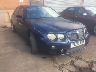 2002 MG ZT 190 automatic 2.5 V6 automatic petrol saloon For Sale