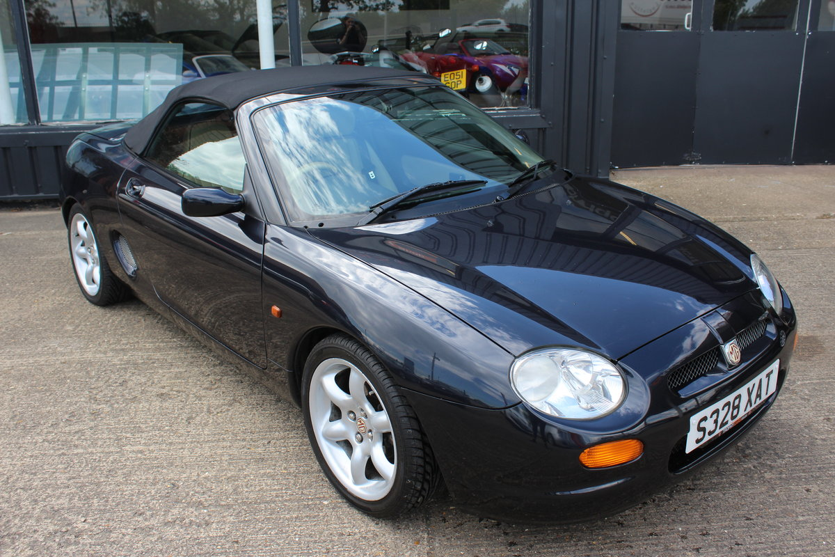 1998 MGF,ONLY 38000 MILES,NEW HEADGASKET,BELT& PUMP SOLD (picture 1 of 6)