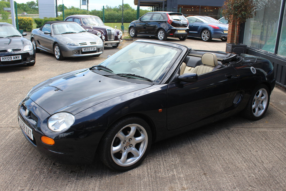 1998 MGF,ONLY 38000 MILES,NEW HEADGASKET,BELT& PUMP SOLD (picture 2 of 6)