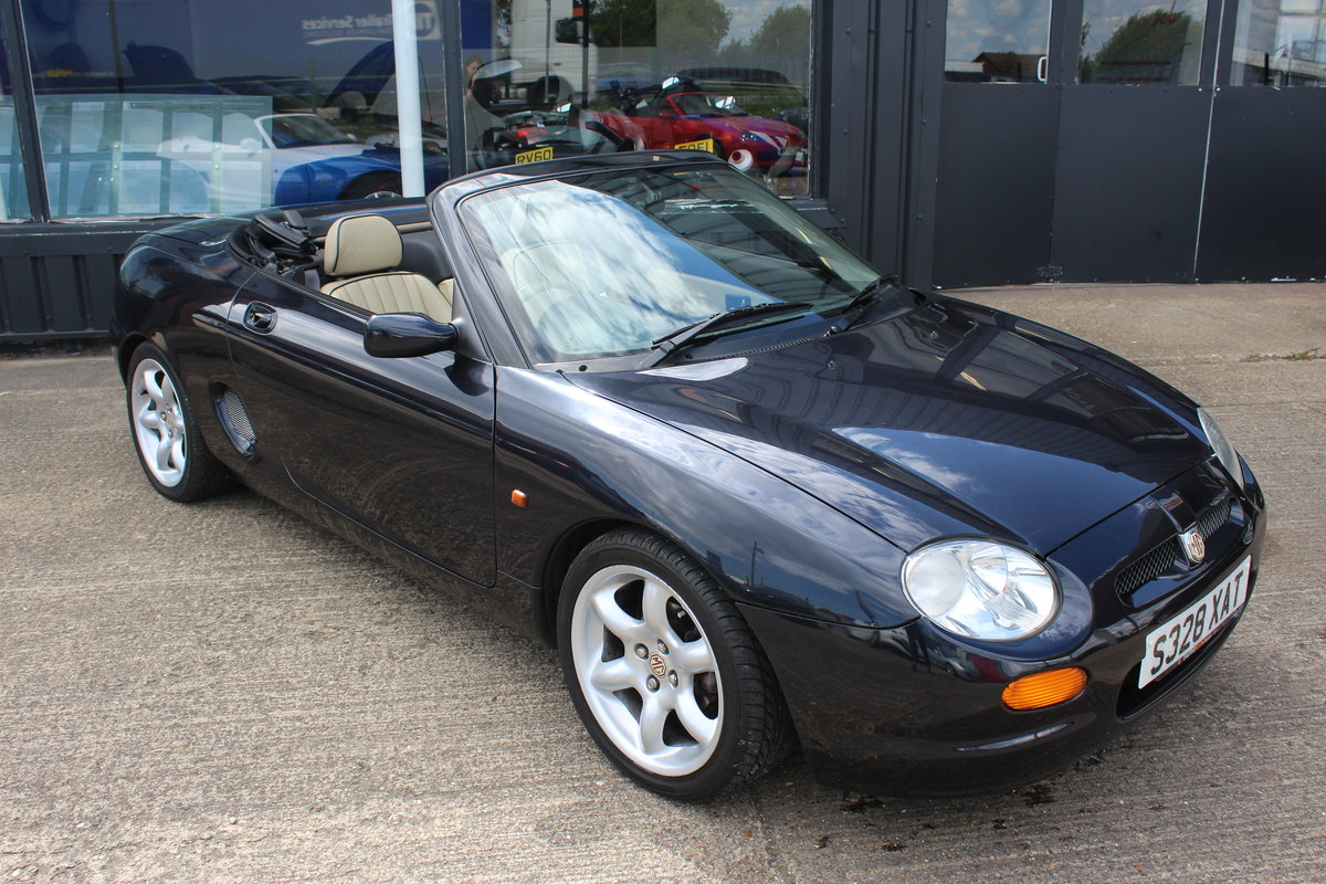 1998 MGF,ONLY 38000 MILES,NEW HEADGASKET,BELT& PUMP SOLD (picture 5 of 6)