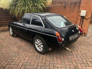 1971 Mgb gt 1.8 for restoration starts & drives For Sale