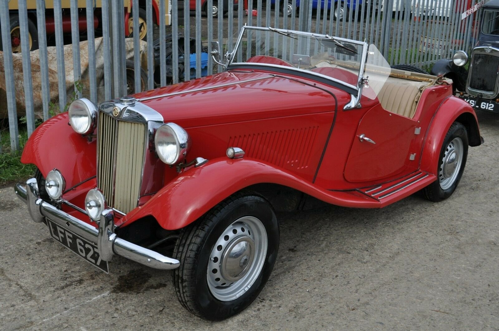 1953 MG TD UK HOME MARKET RHD CLASSIC CAR IN REGULAR USE  SOLD (picture 1 of 6)