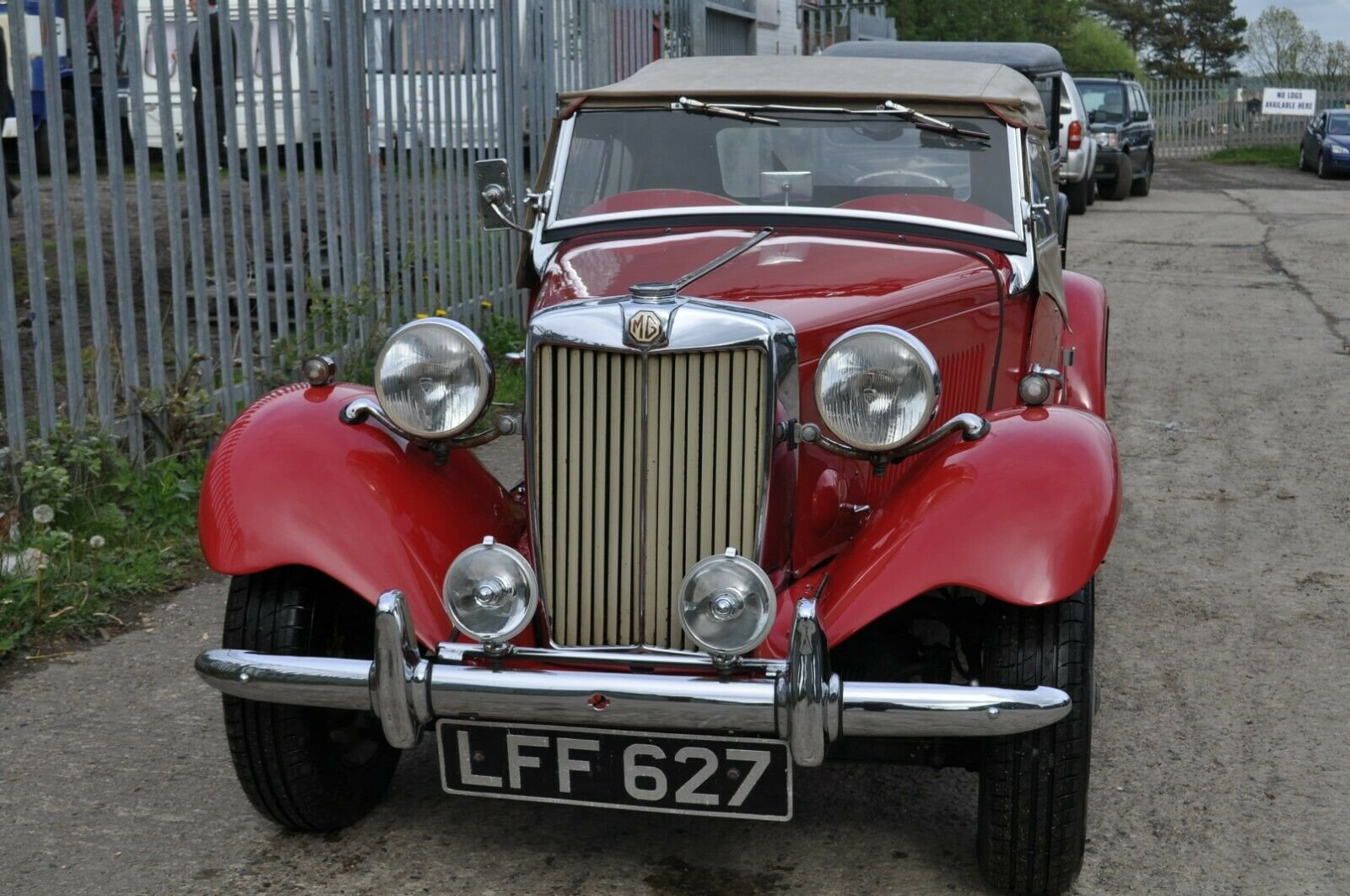 1953 MG TD UK HOME MARKET RHD CLASSIC CAR IN REGULAR USE  SOLD (picture 3 of 6)