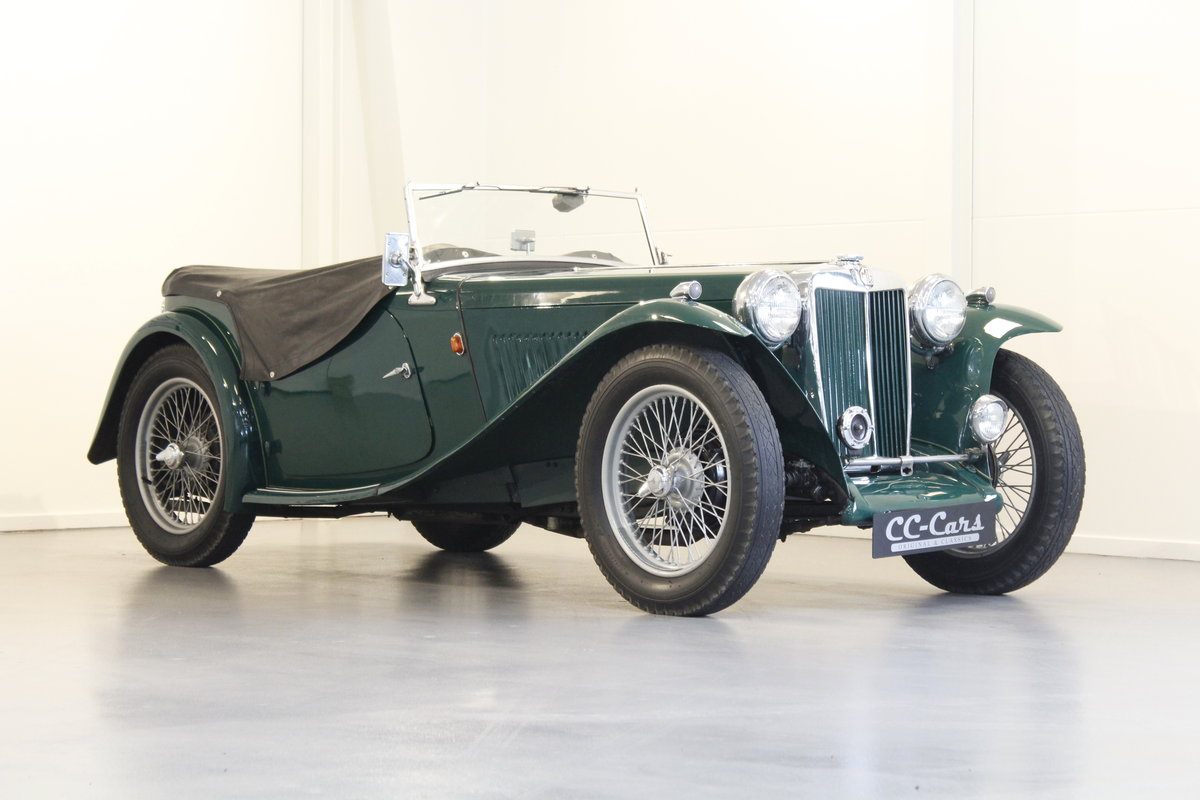 1948 MG TC 1.25 - Mathing numbers For Sale (picture 1 of 6)