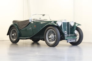 1948 MG TC 1.25 - Mathing numbers