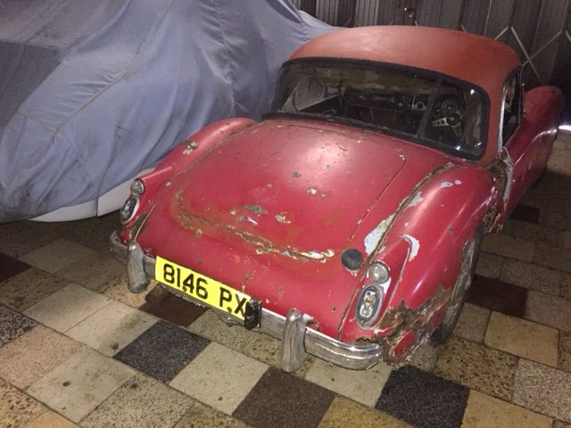 MGA 1960 MK1 1600 CC FOR RESTORATION UK CAR  SOLD (picture 1 of 6)