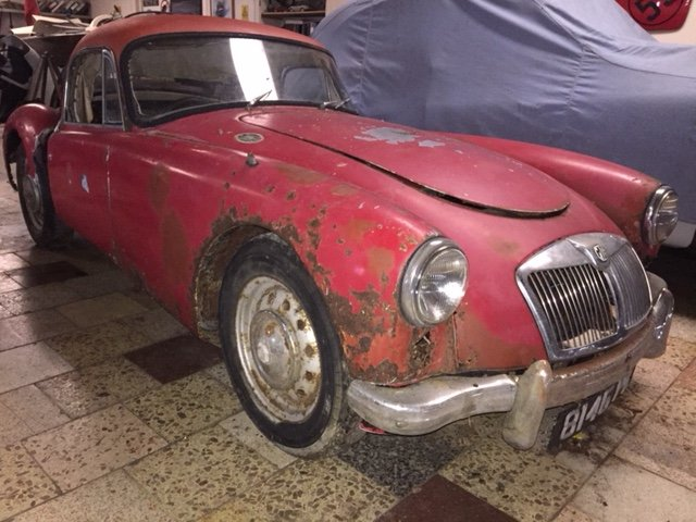 MGA 1960 MK1 1600 CC FOR RESTORATION UK CAR  SOLD (picture 5 of 6)