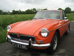 1971 MGB GT totally restored