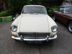 1967 - MG B GT For Sale