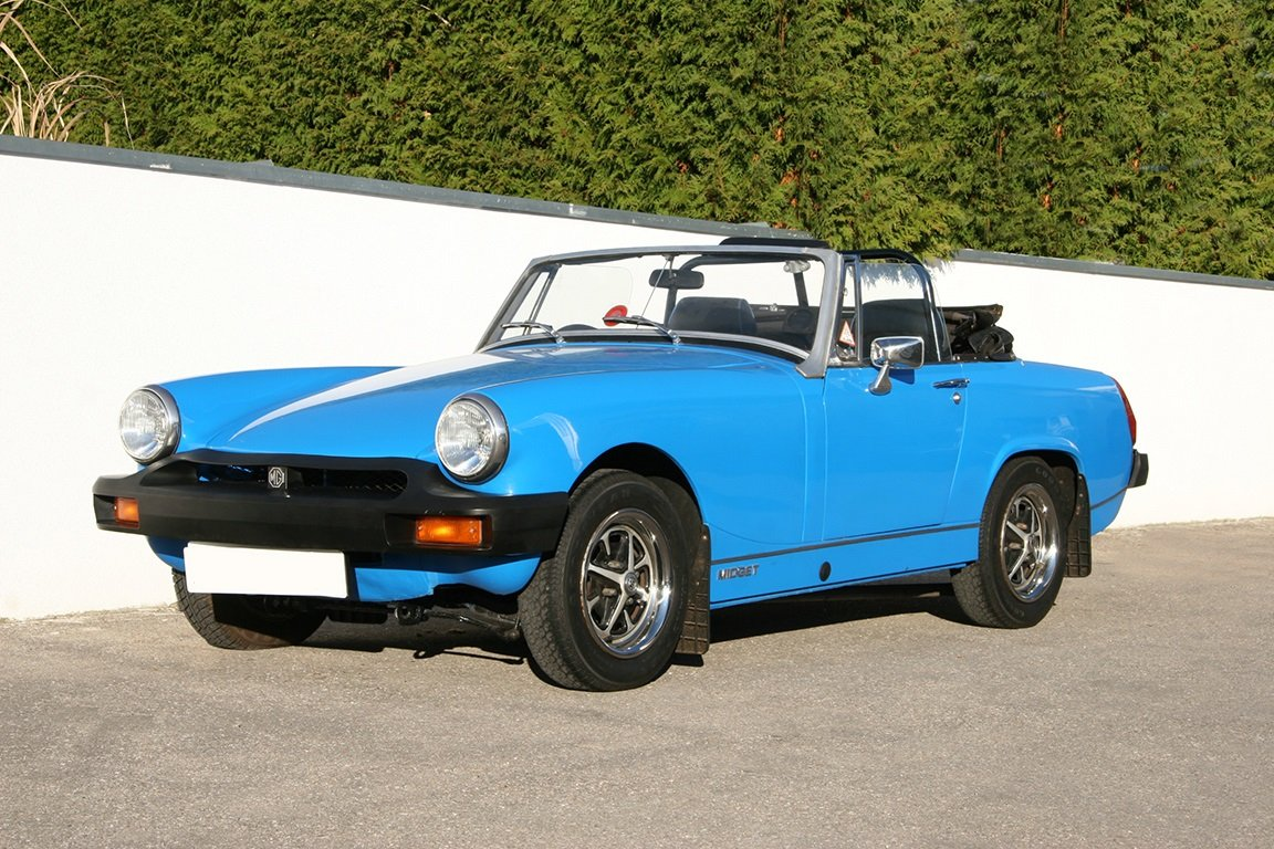 1978 MG Midget 1500-RHD-UK documents present For Sale (picture 1 of 6)