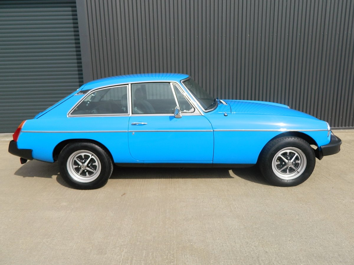 1982 MG MGB 1.8 GT For Sale (picture 1 of 6)