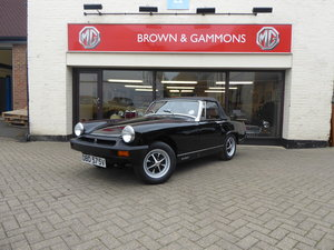 1980 MG MIDGET 1500, LOW MILEAGE
