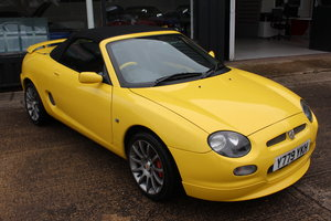 2001 MGF TROPHY 160,ONLY 47K,NEW HEADGASKET,BELT&PUMP,RAC SOLD