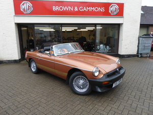 MGB ROADSTER LE 1981 For Sale
