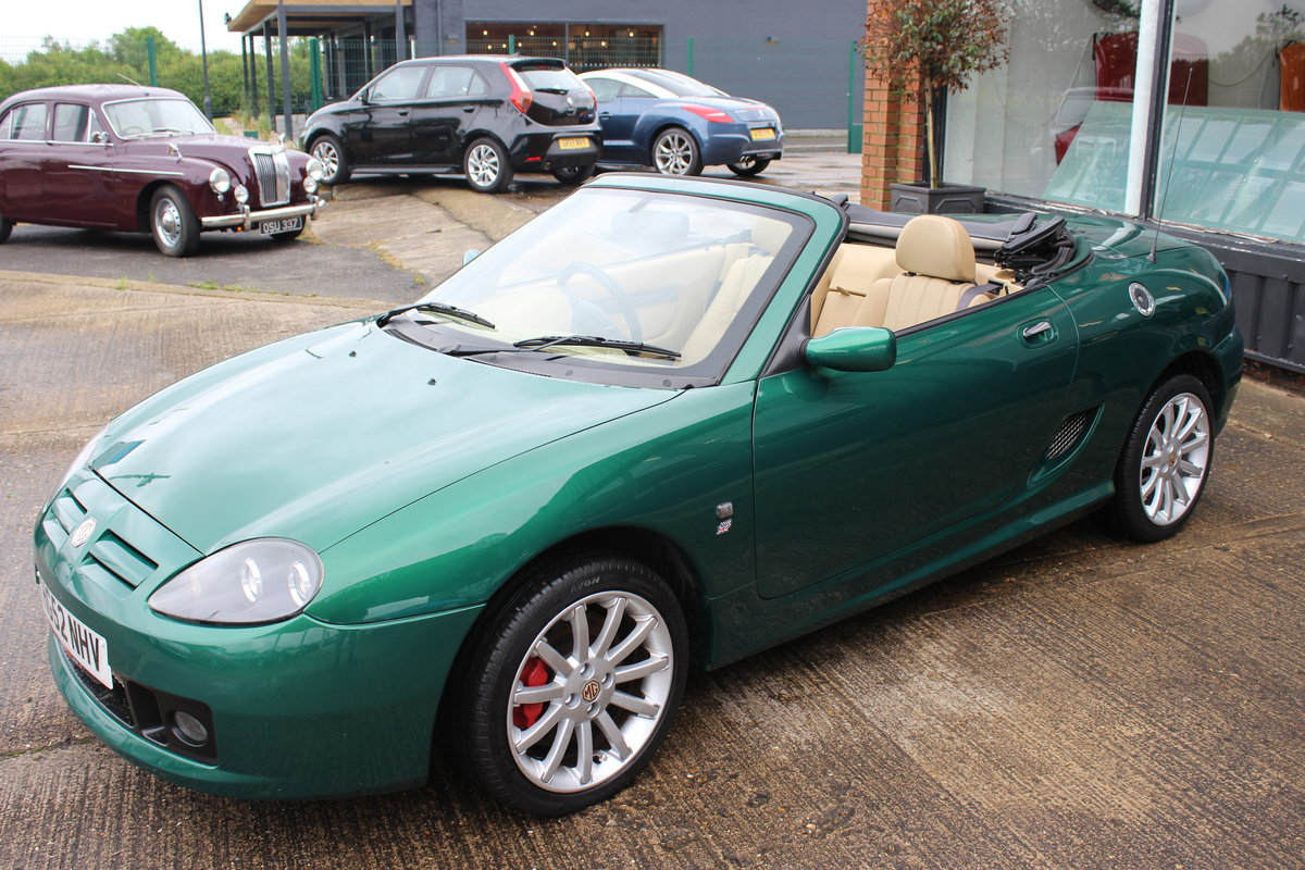 2002 MG TF 160,TAN INTERIOR,32K,NEW HEADGASKET,BELT&PUMP,RAC SOLD (picture 2 of 5)