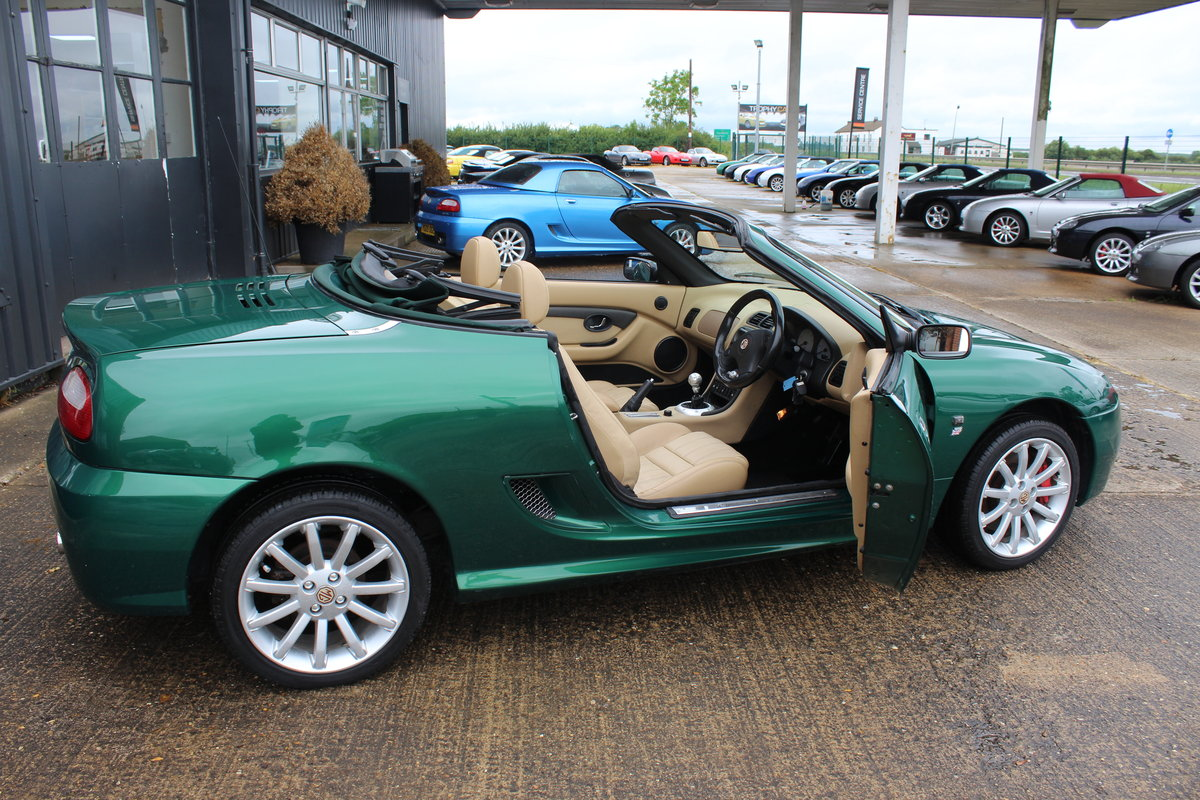 2002 MG TF 160,TAN INTERIOR,32K,NEW HEADGASKET,BELT&PUMP,RAC SOLD (picture 4 of 5)