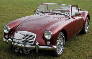 Tip top 1957 MGA Roadster For Sale For Sale