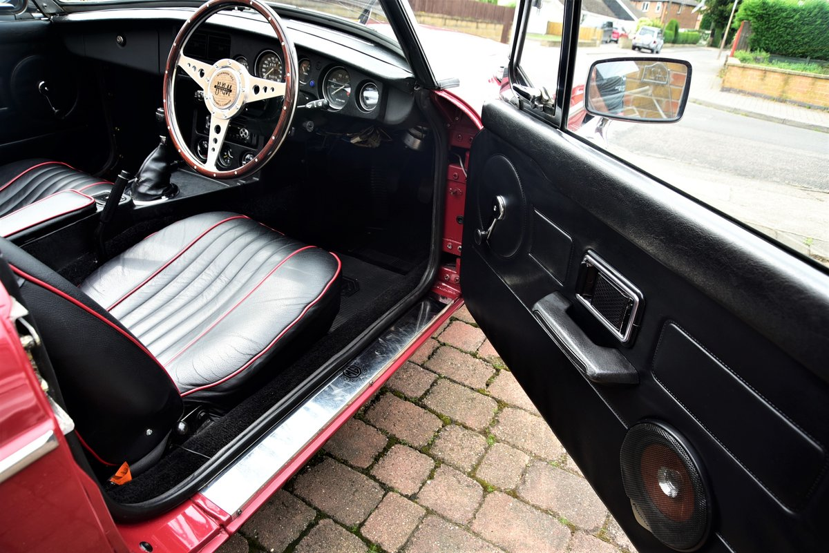 1978 MGB Roadster Good Show Condition For Sale (picture 5 of 6)