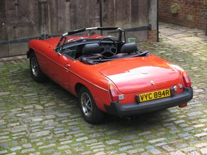 1977 STUNNING MGB ROADSTER For Sale