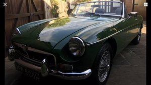 Mgb roadster 1970, brooklands green, beautiful For Sale