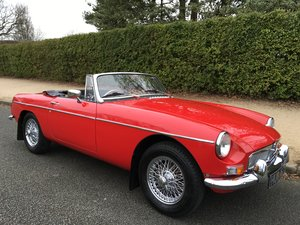 1967 MGB Roadster - 346 MILES SINCE FULL RESTORATION For Sale