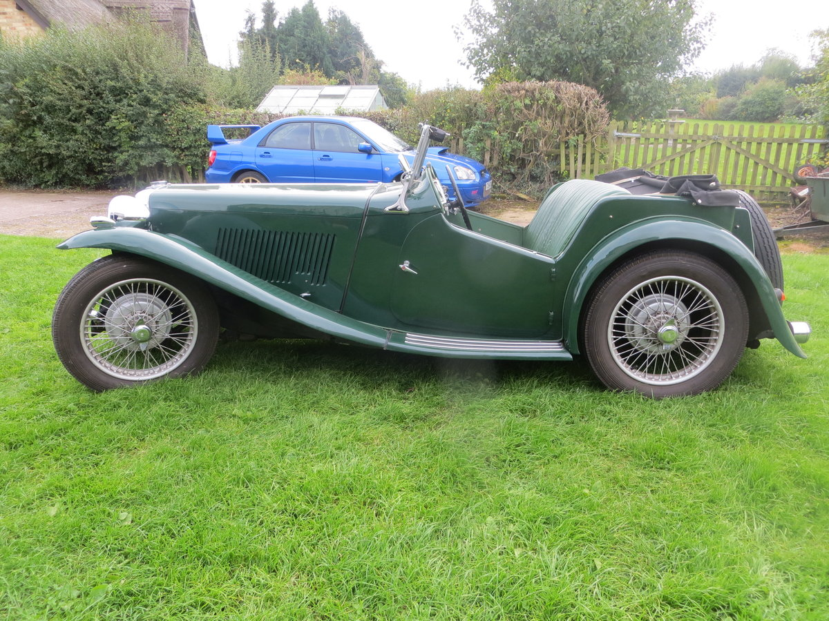 1937 MG TA Maching Numbers  For Sale (picture 1 of 6)