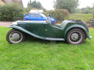 1937 MG TA Maching Numbers  For Sale
