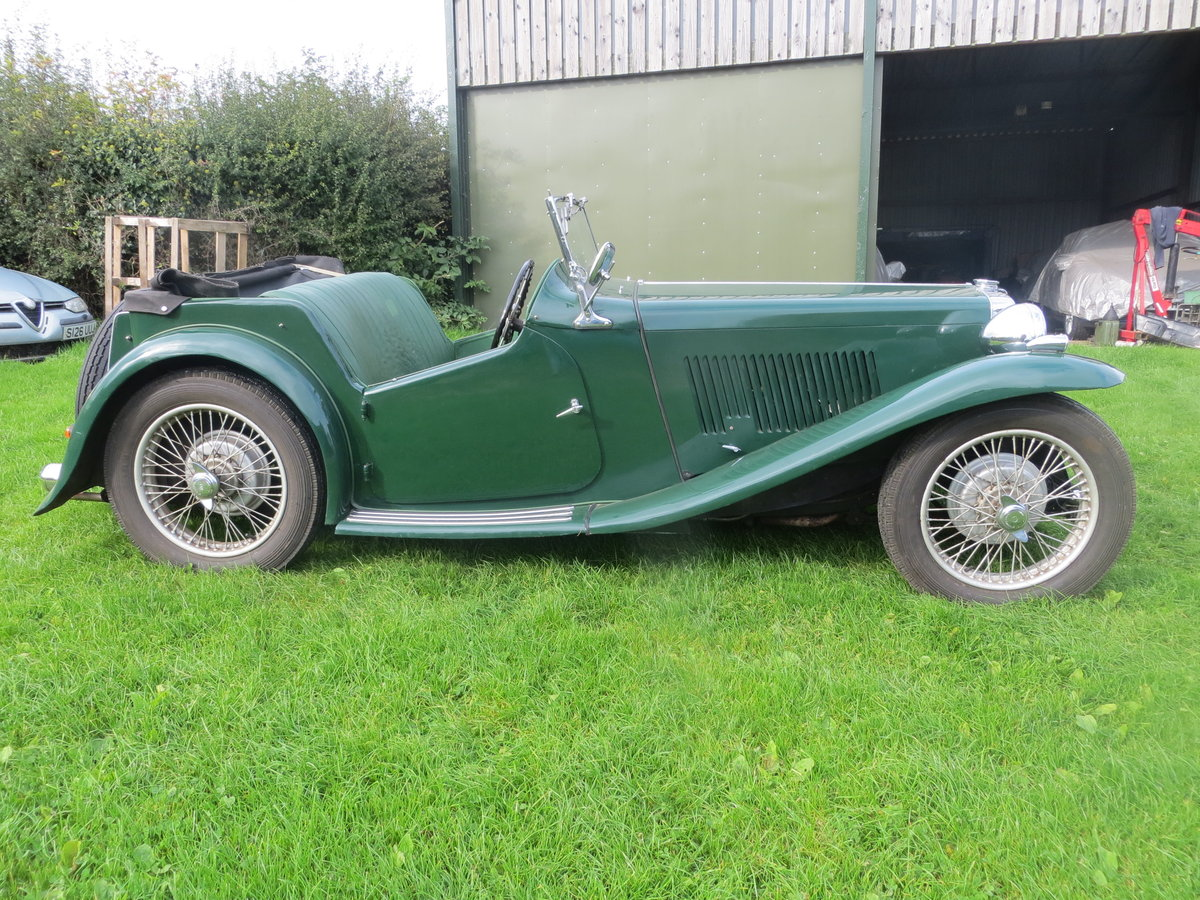1937 MG TA Maching Numbers  For Sale (picture 2 of 6)