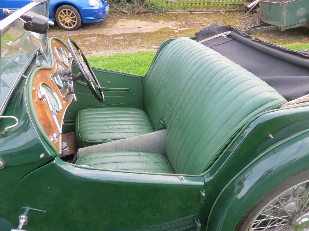 1937 MG TA Maching Numbers  For Sale (picture 3 of 6)