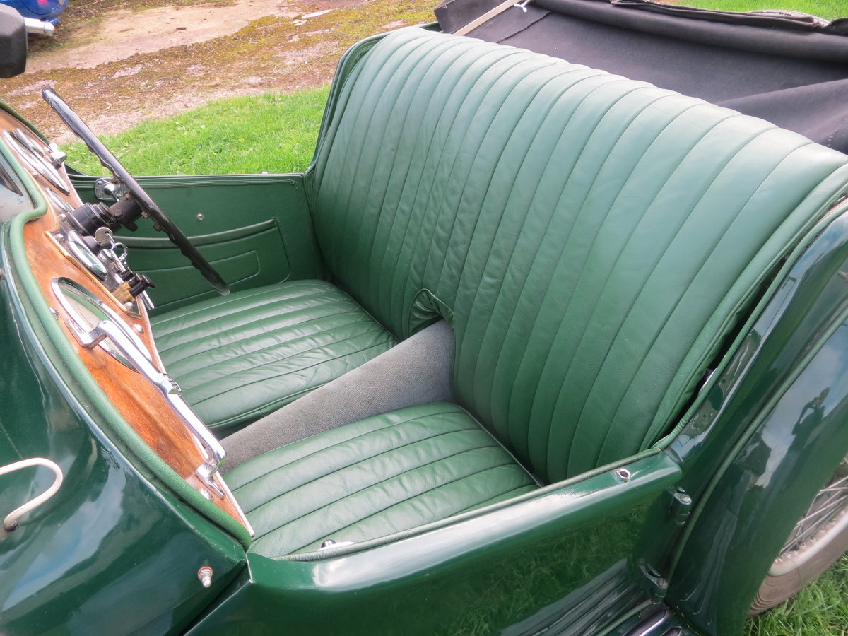1937 MG TA Maching Numbers  For Sale (picture 6 of 6)