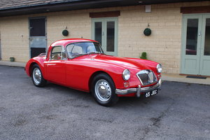 1961  MG A MK2 1600 COUPE - UK CAR
