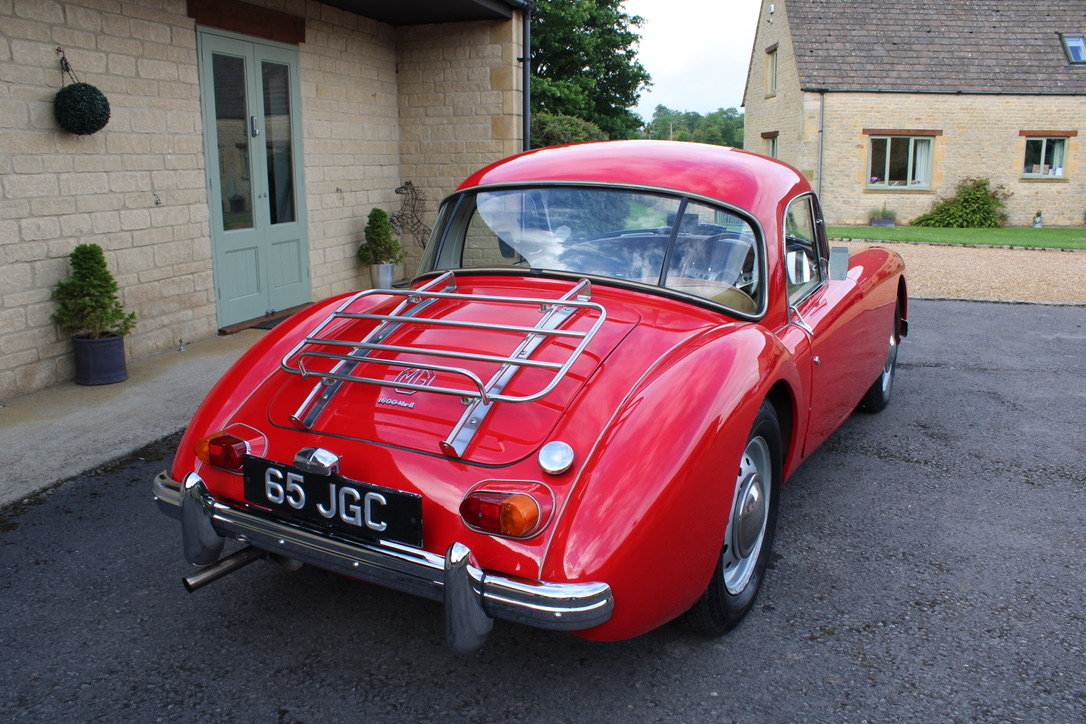 1961 MG A MK2 1600 COUPE - UK CAR For Sale (picture 2 of 12)