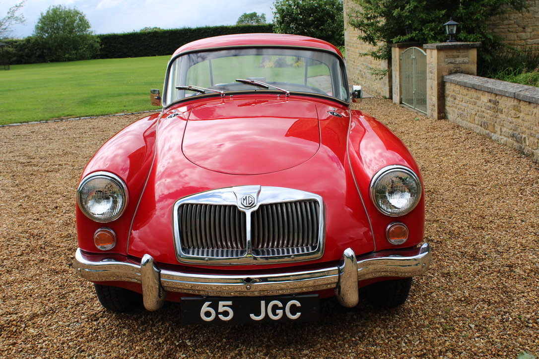 1961 MG A MK2 1600 COUPE - UK CAR For Sale (picture 3 of 12)