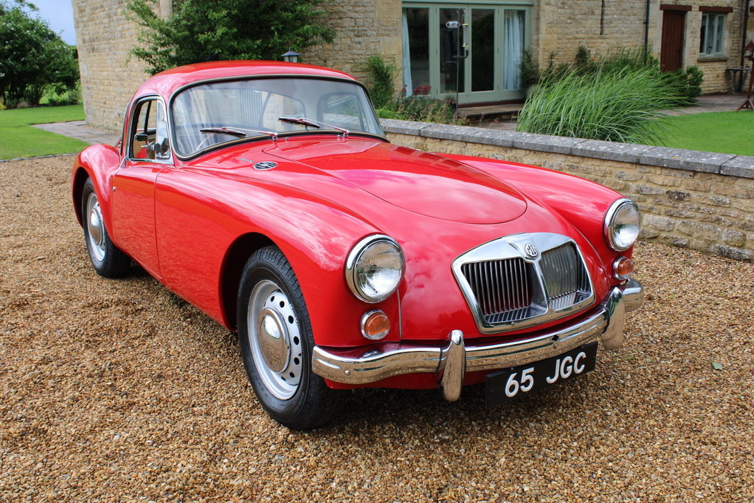 1961 MG A MK2 1600 COUPE - UK CAR For Sale (picture 5 of 12)