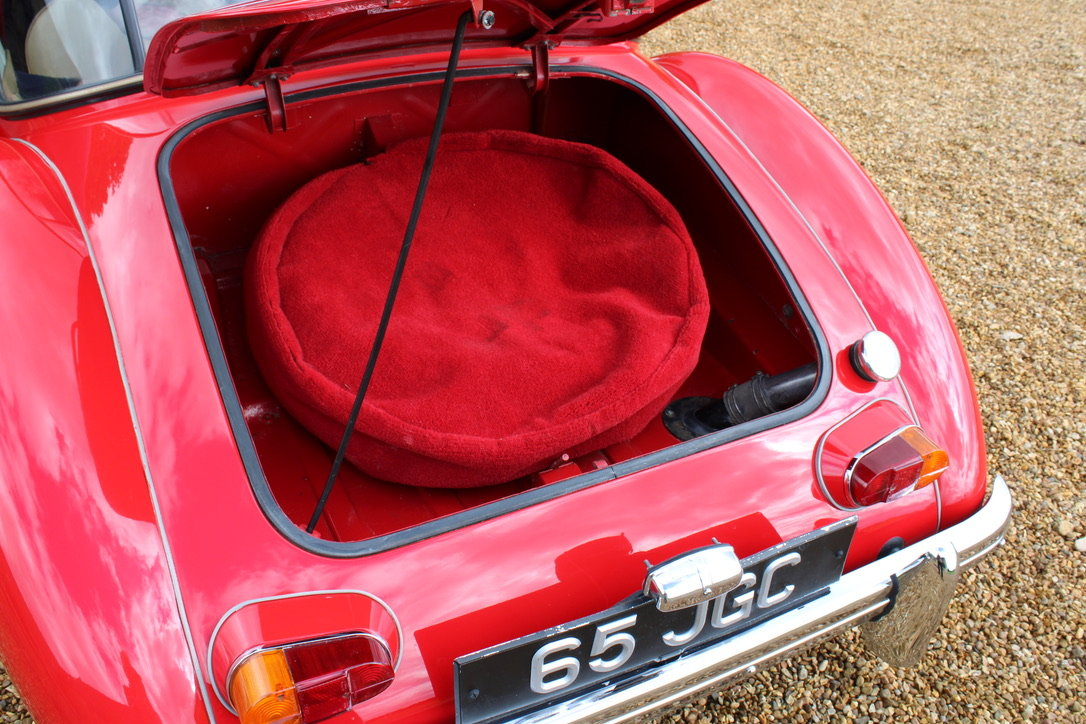1961 MG A MK2 1600 COUPE - UK CAR For Sale (picture 6 of 12)