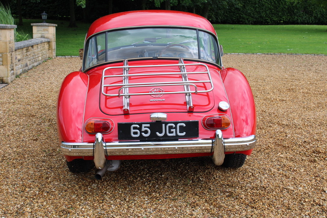 1961 MG A MK2 1600 COUPE - UK CAR For Sale (picture 9 of 12)
