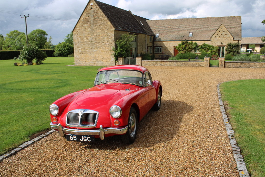 1961 MG A MK2 1600 COUPE - UK CAR For Sale (picture 12 of 12)