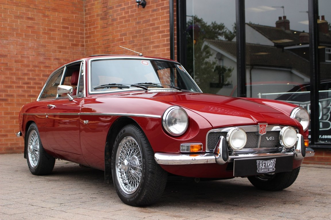 1973 MGB GT V8 - Concours Restored factory car  SOLD (picture 1 of 6)