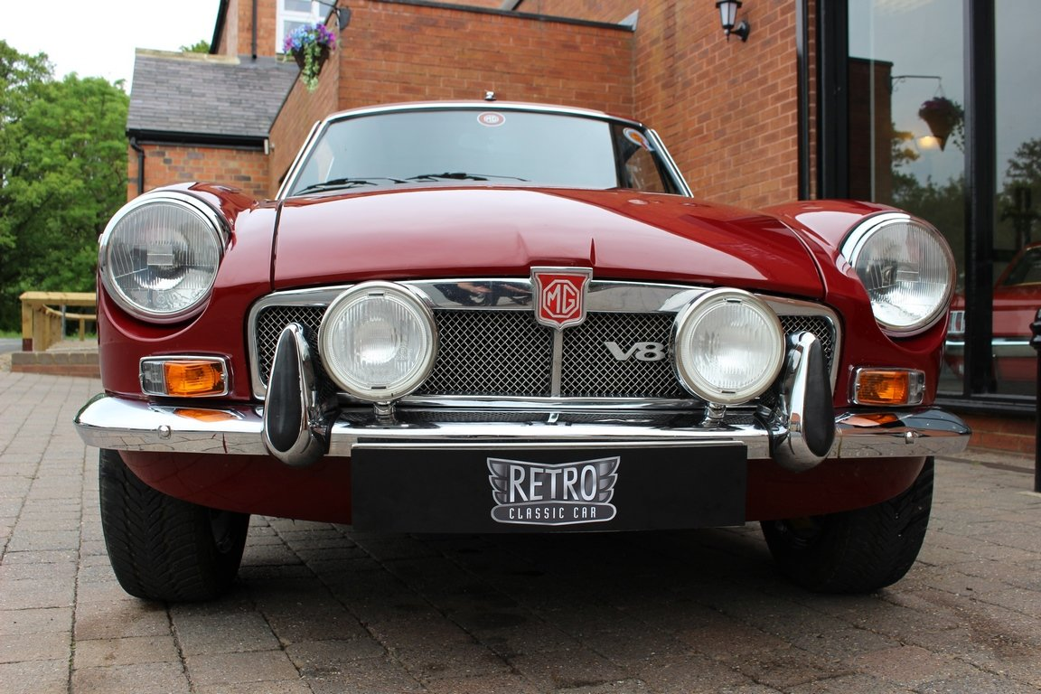 1973 MGB GT V8 - Concours Restored factory car  SOLD (picture 2 of 6)