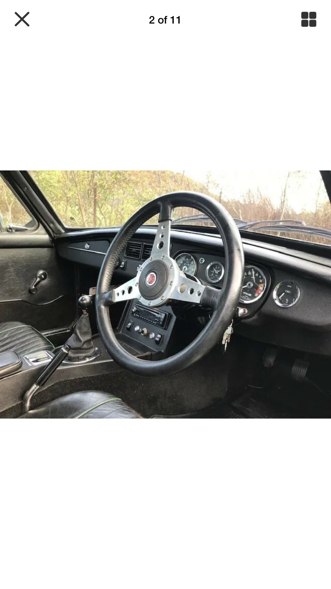 1976 Great usable MGB GT For Sale (picture 2 of 4)