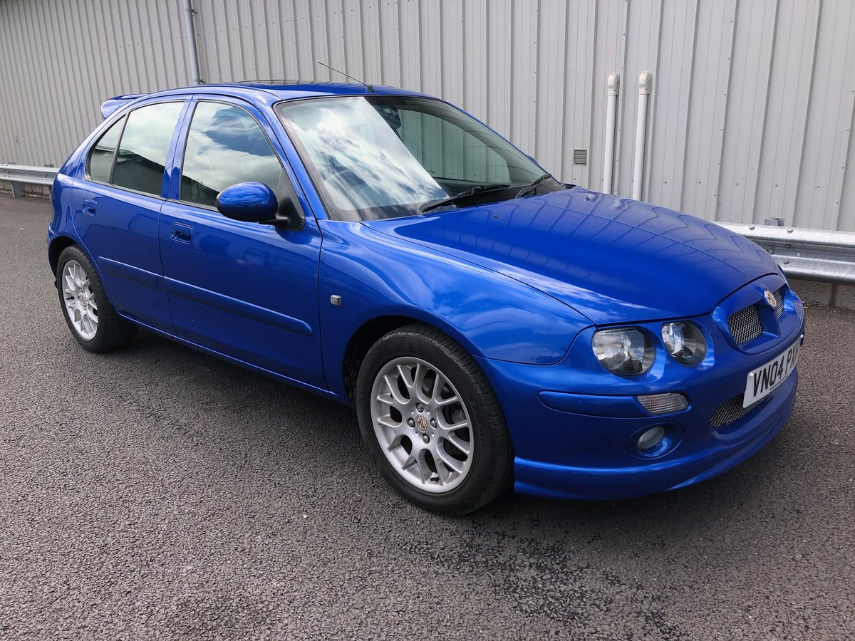 2004 04 MG ZR 2.0 ZR+ TD TURBO DIESEL, JUST 21K MILES!! SOLD (picture 1 of 4)