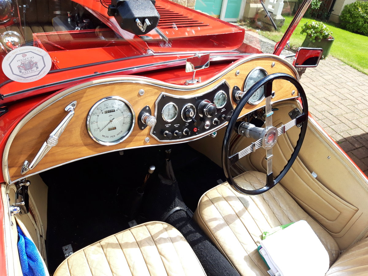 1946 MG TC in red. SOLD (picture 1 of 6)
