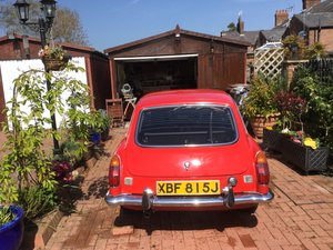 MGB GT 1971  For Sale