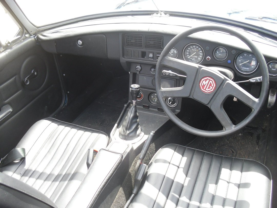 Mgb roadster 1978 For Sale (picture 4 of 5)