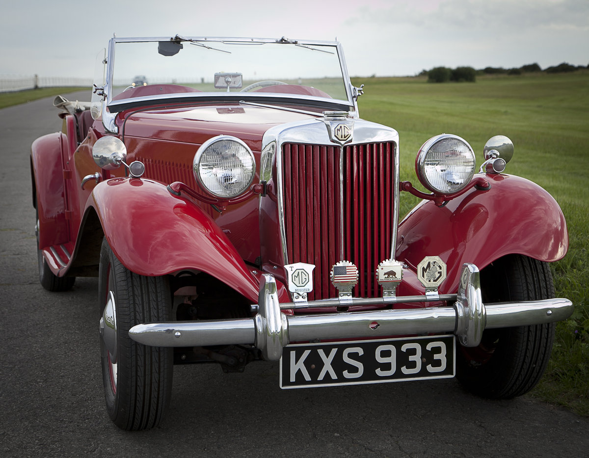 1952 MG TD MkII SOLD (picture 2 of 6)