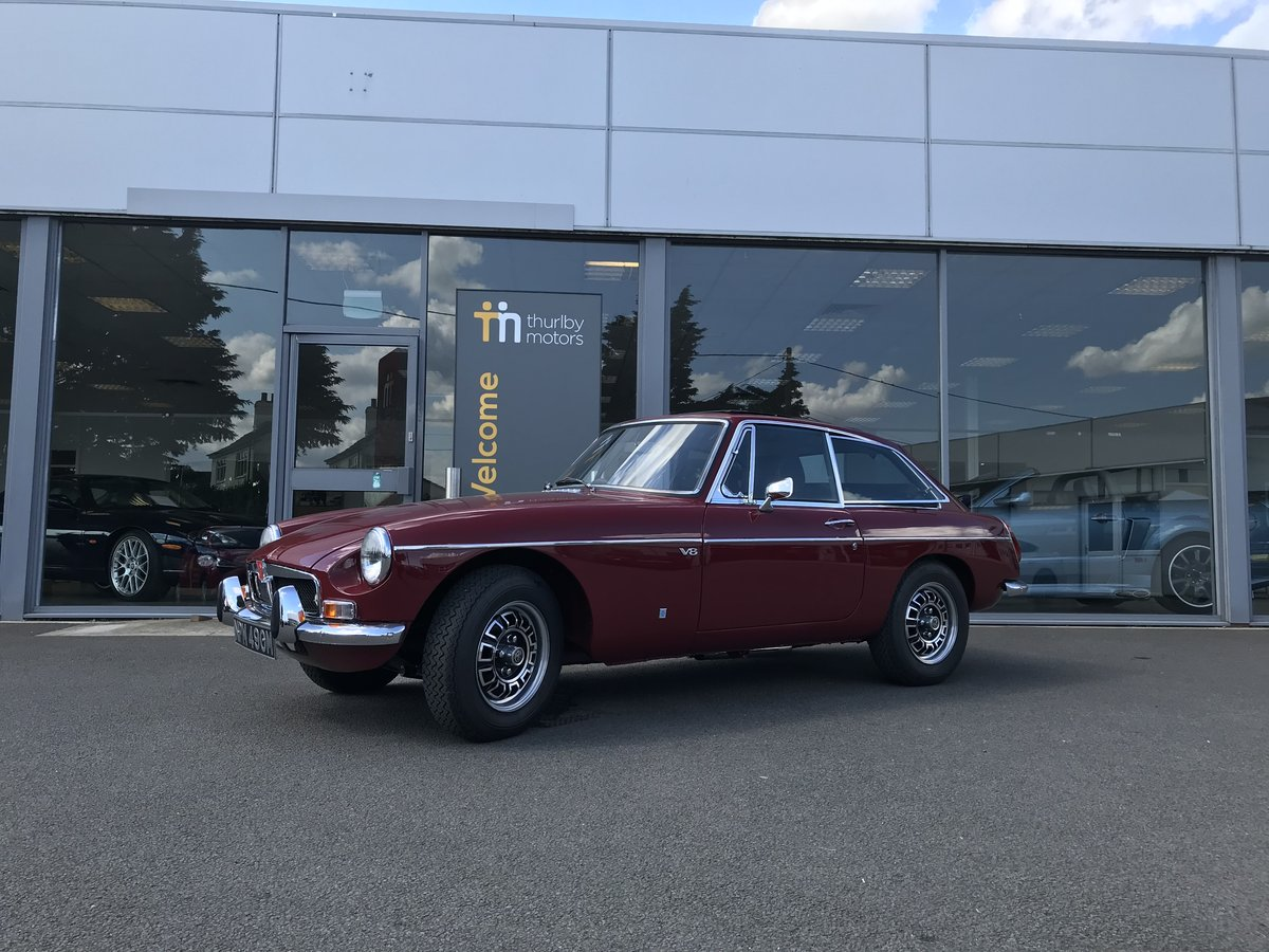 1973 MG B GTV8 For Sale (picture 1 of 3)
