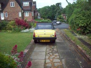 mg midget 1500 1979 model INCA yellow,MOTjune 2020 For Sale