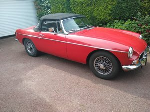 1970 MG B Roadster for Auction Friday 12th July For Sale by Auction