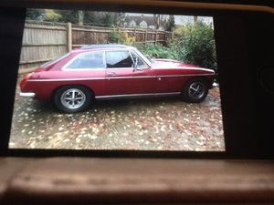 5795 MG BGT 1973 DAMASK RED - 86,000 miles For Sale