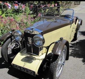 1933 MG J2 Midget  For Sale